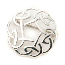 Scottish Knot Brooch